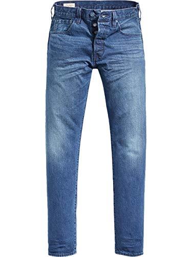 Levis 501 Slim Tapered Herren Jeans, Farbe:Blau, Größen:34W / 32L