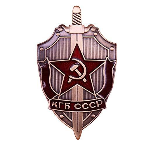 GuDeKe CCCP KGB Pin Badge Lot of 2