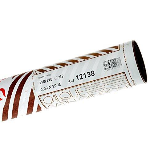 Canson Transparentpapier Rollen/12138 0,90x20m 110/115g/qm