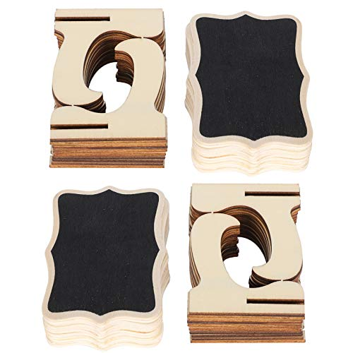 Mini pizarra de madera Mini pizarra de madera Tarjetas de lugar Pizarra Quitar fácilmente Almacenar fácilmente para actividades para niños para oficina
