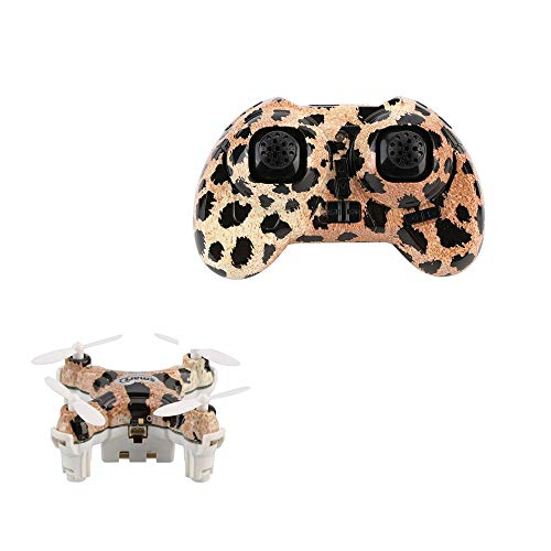 Mini Drone 2,4 GHz 4CH 6-assige Gyro Micro RC Helicopter Smart quadcopter Upgrade voor kinderen, Zeer geschikt als cadeau voor uw kind,Leopard