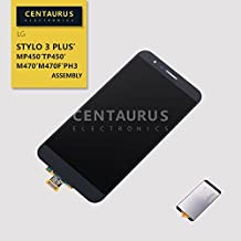 Replacement for LG Stylo 3 Plus MP450 TP450 M470 M470F PH3 5.7 inch Full LCD Display Touch Screen Digitizer Panel Assembly Without Bezel Frame - Gray - (Not Fit LG Stylo 3)