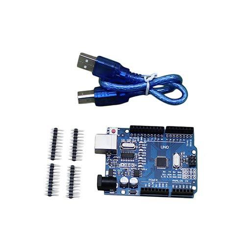 Placa de desenvolvimento UNO R3 ATmega328P CH340 para Arduino UNO R3 Arduino IDE