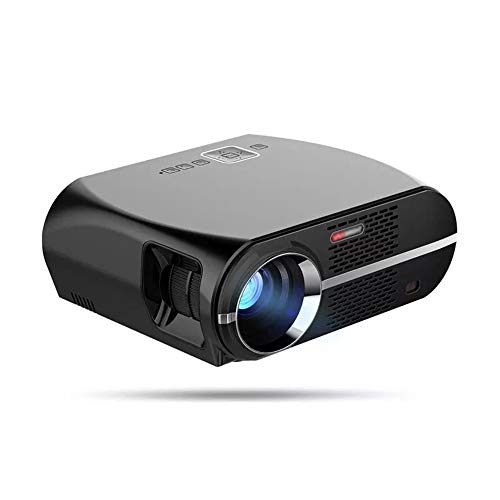 CuteLife Mini Projector Smart LCD LED Projector 3500 Lumens 1280x800 Pixels LED Projector USB WIFI 1080P HD Video Decode VGA Home Portable Projector (Color : Photo color, Size : One size)