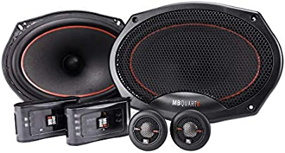 $199 » MB Quart RS1-269 Reference 2-Way Component Speaker System (Black, Pair) – 6x9 Inch Component Speaker System, 240 Watt, Car...