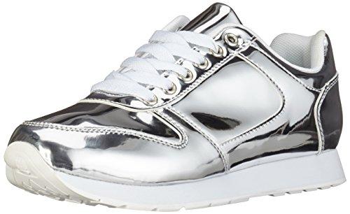 Blink Damen Rebecka Sneakers, Silber (Silver 100), 37 EU (4UK)