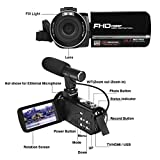 Camcorder, 1080P IR Night Vision Camcorders Full HD Portable