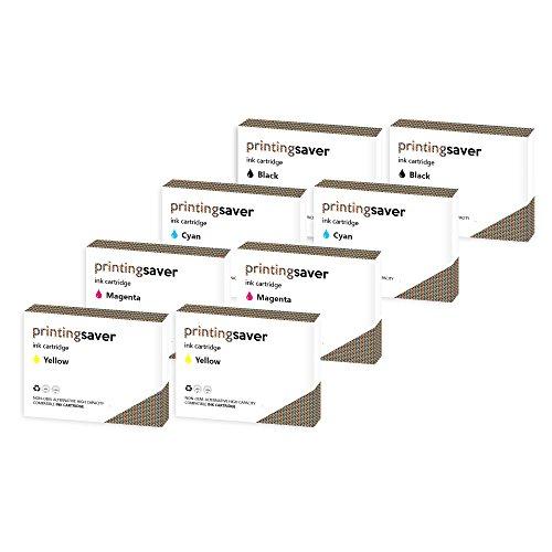 2X Set Druckerpatronen kompatibel für EPSON Workforce WF-2010W WF-2510WF WF-2520NF WF-2530WF WF-2540W WF-2540WF WF-2630WF WF-2650DWF WF-2660DWF WF-2630WF WF-2650DWF WF-2660DWF WF-2750DWF WF-2760DWF