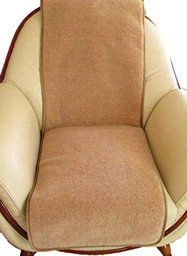 Sesselschoner - 1 Stück Sesselauflage Überwurf, Alpacawolle 60x200
