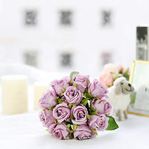 Hortensie arte flor seidenblume lavanda 45cm