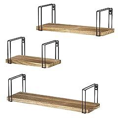 Hängeregal Holz 3er Set