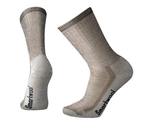 Smartwool Men's Hiking Medium Crew Sock (Large, Dark Brown)
