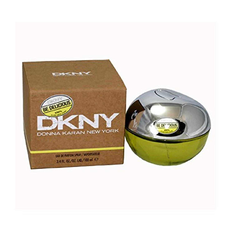 葡萄かる匹敵しますダナキャラン DKNYビーデリシャス オードパルファン スプレー 100ml (女性用)