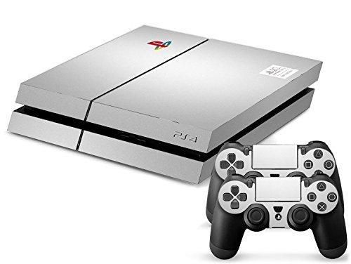Sony PS4 Playstation 4 Skin Design Foils Aufkleber Schutzfolie Set - Anniversary Motiv