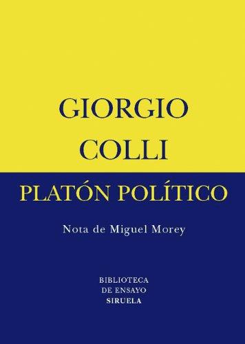Platón político: 43 (Biblioteca de Ensayo / Serie menor)