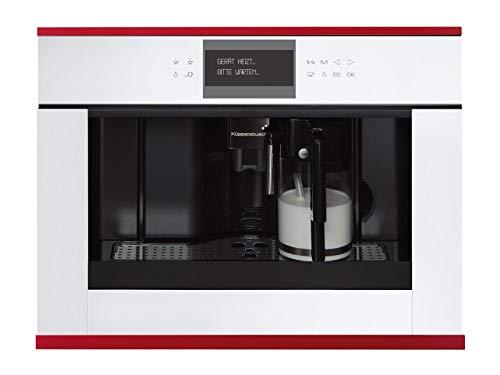 Küppersbusch CKV 6550.0 W8 K-Series. 5 Einbau-Espresso-/Kaffeevollautomat Weiß/Hot Chili