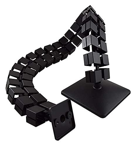 HJHQQ-CZYHG Guía de Cable Longitud Cuadrada: 759 mm Cable Manguera (Negro)