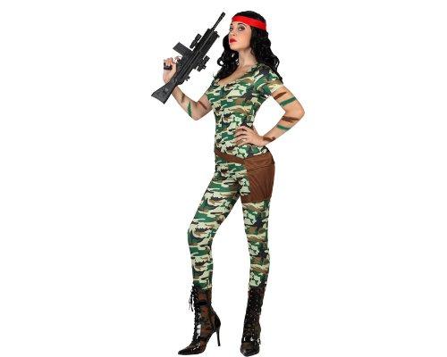 Atosa - Disfraz de Rambo para niña, talla XS (22934): Amazon.es ...