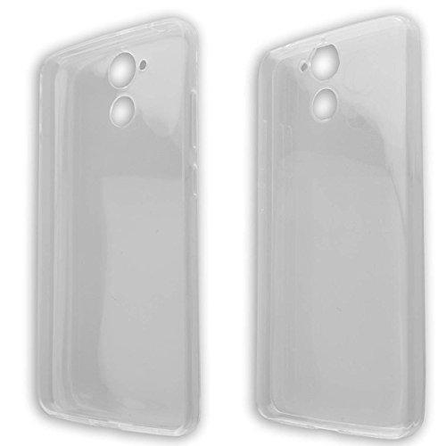 caseroxx TPU-Hülle für Blackview P2 / P2 Lite, Handy Hülle Tasche (TPU-Hülle in transparent)