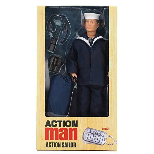 Action Man - DELUX ACTION SAILOR - Nueva figura de edición limitada con accesorios, celebrando tres de las figuras más populares de todos los tiempos!!