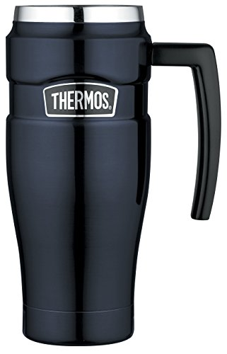 *THERMOS King Thermobecher Edelstahl 470 ml, Midnight Blue, 0,47 l*