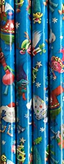 Best dreamworks trolls christmas wrapping paper Reviews