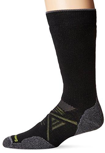 Smartwool PhD Outdoor Medium Crew Sock - Medium Cushioned Merino Wool Performance Sock for Men and Women BLACK S
