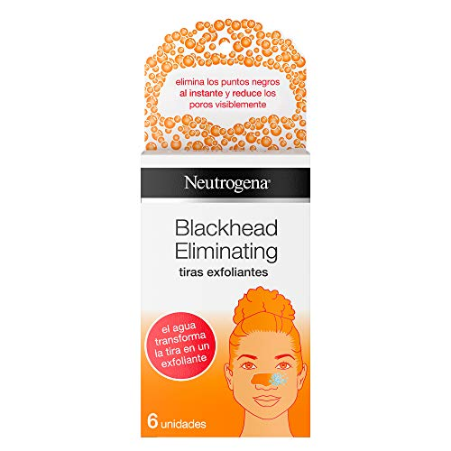 Neutrogena Blackhead Eliminating Tiras Exfoliantes - 6 Unidades