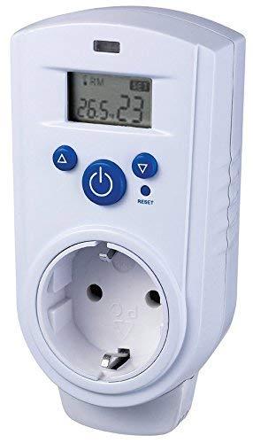 Digitales Steckdosen-Thermostat 230V für Infrarot-Heizung Klimageräte Ventilatoren Terrarium Aquarium I mit Display