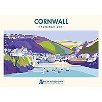 Cornwall, Becky Bettesworth A4 Calendar 2021