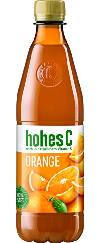 hohes C Orange - 100% Saft, 12er Pack (12 x 500 ml)