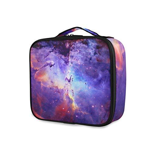 KLL Organizador cosmético multifuncional portátil del bolso de la belleza del maquillaje del viaje para las mujeres niñas con la bolsa interior