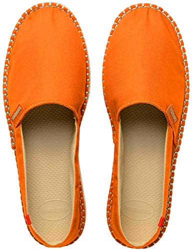 Havaianas Unisex-Erwachsene Origine Iii Espadrilles, Orange (Tangerine), 35 EU