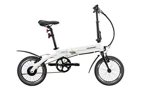 Blaupunkt CARLA 190 | Falt-E-Bike, Designbike, Klapprad, StVZO, 16 Zoll, leicht, Pedelec, Klapprad, Faltrad, e-bike, kompakt, Fahrrad, E-Falt Bike, Klappfahrrad, Elektrofahrrad, Elektrobike
