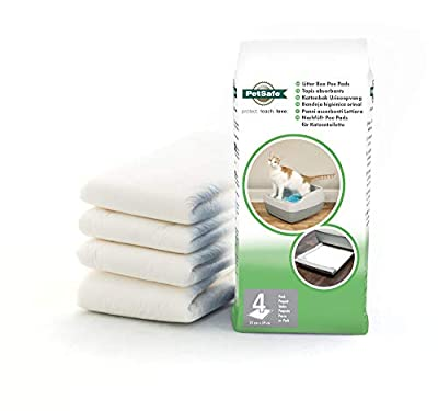PetSafe Litter Box Pee Pad, for Deluxe Crystal Cat Litter Box System, From The Makers of The Scoopfree Self-Cleaning Cat Litter Box