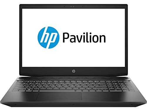 HP - Gaming Pavilion 15-cx0013nl Notebook, Intel Core i5-8300H, RAM 16 GB, SSD 128 GB, SATA 1 TB, NVIDIA GeForce GTX 1050 4 GB, Windows 10 Home, Schermo 15.6  FHD IPS Antiriflesso, USB-C, RJ45, Nero