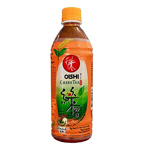 500ml Oishi Grünteegetränk Grüner Tee Getränk mit GENMAI Extrakt