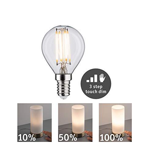Paulmann Ledlamp, watt, dimbaar, ringspiegel, goud, efficiënt licht, glas, goudlicht