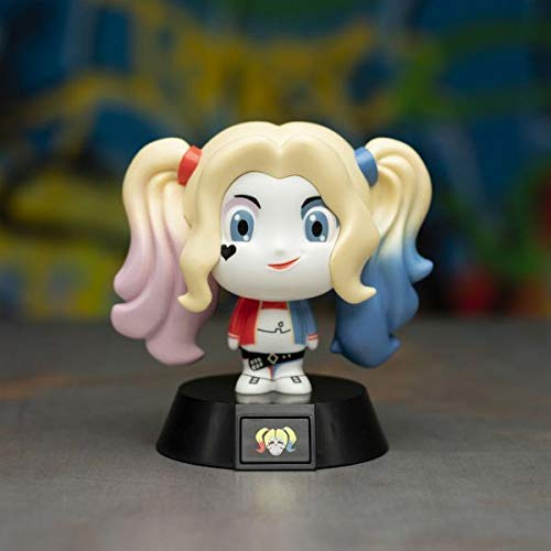 Paladone Suicide Squad 3D LED, Harley Quinn Icon Light