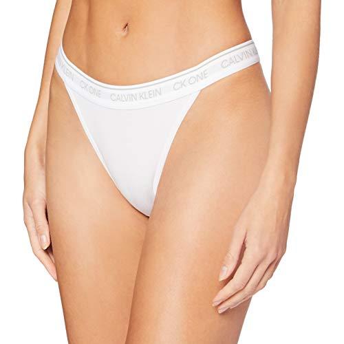 Calvin Klein Brazilian Brasiliana, Bianco (White 100), (Taglia Produttore: Large) Donna