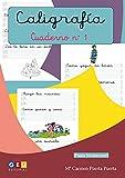 Caligrafía Montessori Cuaderno 1: Primeros Trazos Iniciación A La escritura | Editorial Geu: Caligrafía Educación Infantil (Montessori 3 años)