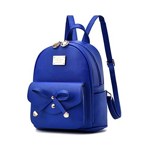 Mini Babala Damen Rucksack, Frauen Mädchen Mode Rucksack Handtasche Schultertasche Schuleinkaufstasche Crossbody Frau Geschenke