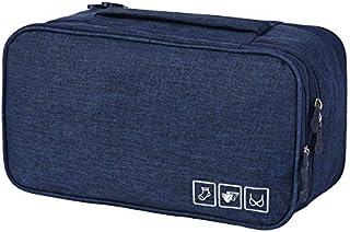 Travel Packing Organizer Bra Underwear Bag Storage Large Lightweight Bra Bag for Travel Lingerie Luggage Packing Storage C...
