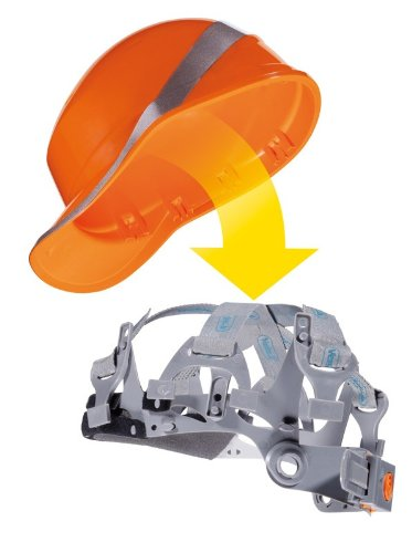 Delta plus - Kit arnes para casco diamond gris (10u): Amazon.es ...