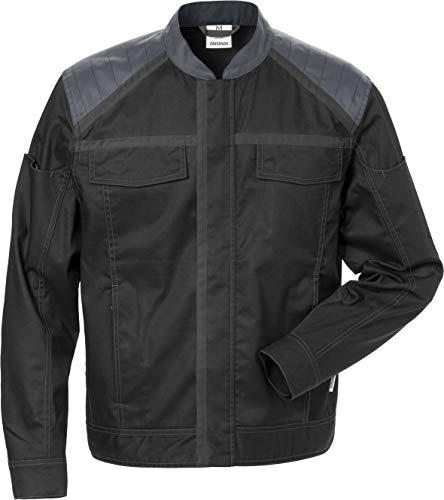 Fristads Workwear 129481 Chaqueta para hombre, Negro, gris, 4X-Large