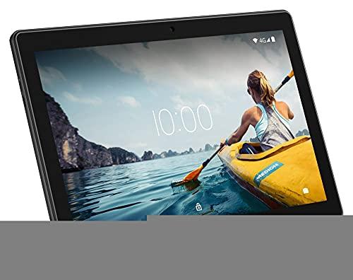 MEDION E10711 25,5 cm (10 Zoll) Full HD Tablet mit IPS Display (LTE, Android 10, Quad Core Prozessor, USB Typ C, 2GB RAM, 32GB Speicher, WLAN, Bluetooth, 5MP Kamera) schwarz