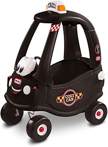 Little Tikes Voiture Noire Coupé Cozy - Conduisez avec un vrai klaxon de travail, interrupteur d'allumage à clic & carburant