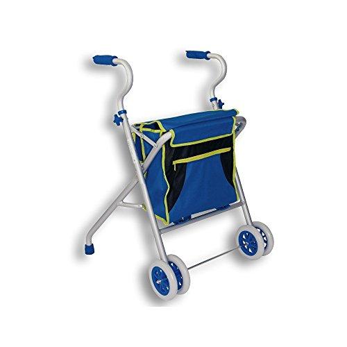 Ayudas dinamicas - Caminador de aluminio con bolsa