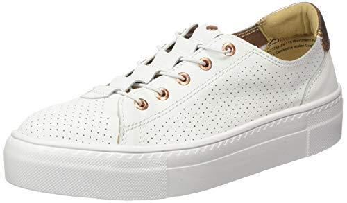 Tamaris Damen 1-1-23761-24 Sneaker, Weiß (Wht/Rose Gold 119), 40 EU