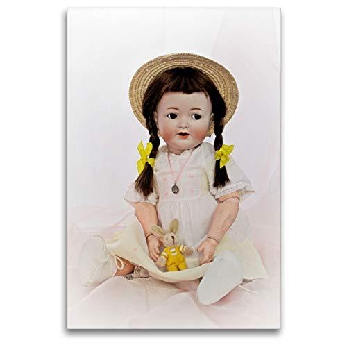 Premium Textil-Leinwand 80 x 120 cm Hoch-Format Puppe 126 von Kämmer & Reinhardt | Wandbild, HD-Bild auf Keilrahmen, Fertigbild auf hochwertigem Vlies, Leinwanddruck von Birgit Presser